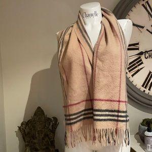 Authentic cashmere blend scarf Nova plaid